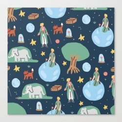Canvas Print   The Little Prince by Sara Maese - LARGE - Society6 found on Bargain Bro from Society6 for USD $101.53