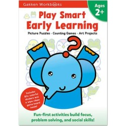 Play Smart Art Activity Books - Early Learning Ages 2+ Workbook found on Bargain Bro from zulily.com for USD $4.40