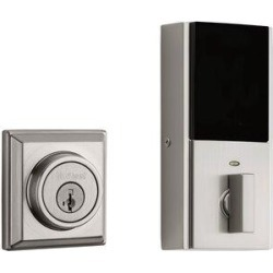 Kwikset Signature Series 2nd Gen Square Contemporary Deadbolt Featuring Smartkey Security & Home Connect TechnologyAluminum in Gray | Wayfair found on Bargain Bro Philippines from Wayfair for $140.22