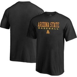 Arizona State Sun Devils Fanatics Branded Youth True Sport Baseball T-Shirt - Black found on Bargain Bro India from Fanatics for $19.99