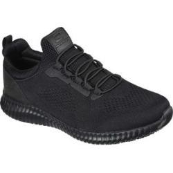 Skechers Men's Sneakers BLK - Black Work Relaxed-Fit Cessnock SR Sneaker - Men found on Bargain Bro India from zulily.com for $69.99