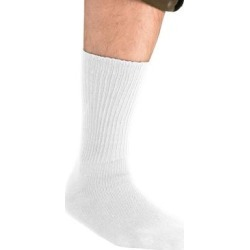 Diabetic Crew Socks by KingSize in White (Size XL) found on Bargain Bro Philippines from Brylane Home for $14.99