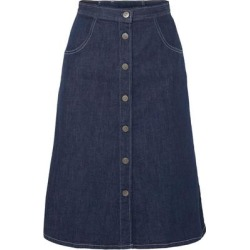 Denim Skirt - Blue - MiH Jeans Skirts found on MODAPINS from lyst.com for USD $147.00