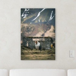 Millwood Pines 'In the Wild (90)' Photographic Print on Canvas Canvas & Fabric in Brown/Gray/Green, Size 30.0 H x 30.0 W x 1.0 D in   Wayfair found on Bargain Bro Philippines from Wayfair for $249.99