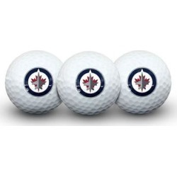 WinCraft Winnipeg Jets 3-Pack Team Golf Balls, Multicolor found on Bargain Bro Philippines from Kohl's for $11.99