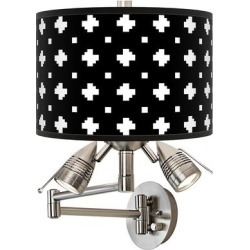 Crossroads Giclee Plug-In Swing Arm Wall Lamp found on Bargain Bro Philippines from LAMPS PLUS for $169.99