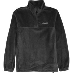Columbia Mens Sweater Black Size Medium M Steens Mountain Fleece 1/2 Zip (M), Men's found on MODAPINS from Overstock for USD $38.98