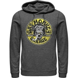 Fifth Sun Men's Sweatshirts and Hoodies CHAR - Gas Monkey Charcoal Heather Garage Hoodie - Men found on Bargain Bro from zulily.com for USD $26.59