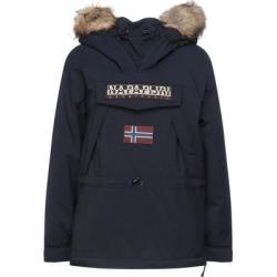 Jacket - Blue - Napapijri Coats found on MODAPINS from lyst.com for USD $371.00