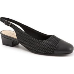 Women's Dea Slingbacks by Trotters in Black Diamond (Size 12 M) found on Bargain Bro India from Woman Within for $94.99