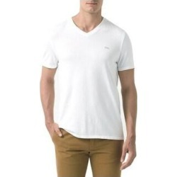 petite Lacoste Men's Vintage Sport Short Sleeve V-Neck Cotton T-Shirt (Blanc Used White - M) found on MODAPINS from Overstock for USD $57.24