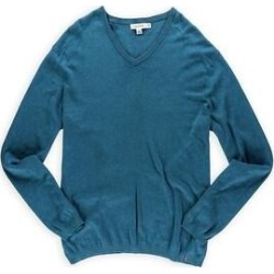Calvin Klein Mens Modal V Neck Pullover Sweater, Green, XX-Large (Green - XX-Large), Men's(cotton) found on Bargain Bro Philippines from Overstock for $36.07