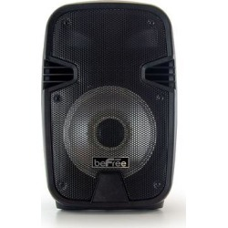 beFree Sound 8-Inch 400 Watts Bluetooth Portable Party Speaker with Reactive Lights, Black found on Bargain Bro from Kohl's for USD $60.79