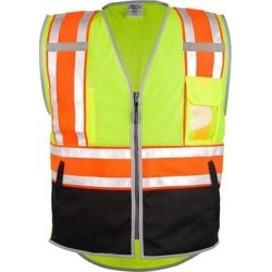 Ultimate Reflective Vest (Orange - 5XL), Men's(polyester) found on Bargain Bro India from Overstock for $55.35