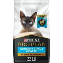 Purina Pro Plan Focus Adult Urinary Tract Health Formula Dry Cat Food, 22-lb bag
