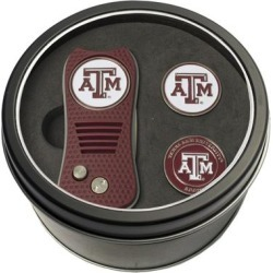 Texas A&M Aggies Divot Tool & Ball Markers Personalized Tin Gift Set found on Bargain Bro India from Fanatics for $29.99