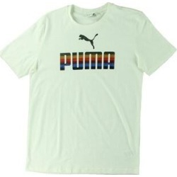 Puma Mens T-Shirt Running Fitness (Puma White - S), Men's(cotton) found on Bargain Bro from Overstock for USD $10.72
