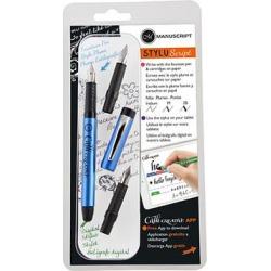 Manuscript Writing Utensils - Blue StyluScript Pen & Nib Set found on Bargain Bro Philippines from zulily.com for $12.99