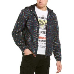 Valentino Stars Jacket (46), Men's, Black(polyamide) found on Bargain Bro Philippines from Overstock for $516.99