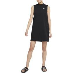 Mock Neck Sleeveless Dress - Black - Nike Dresses found on Bargain Bro from lyst.com for USD $49.40