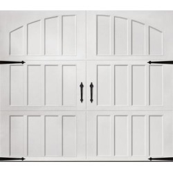 Classica 3000 Northampton Garage Door - White 9 x 7 No Windows found on Bargain Bro from samsclub.com for USD $1,063.24
