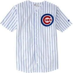 Men's Big & Tall MLB Original Replica Jersey by MLB in Chicago Cubs (Size 3XLT) found on Bargain Bro Philippines from fullbeauty for $56.99