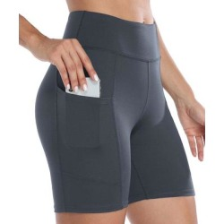 Charmo Women's Active Shorts GRY - Gray Bike Shorts - Women found on Bargain Bro from zulily.com for USD $11.39