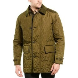 Burberry Wool & Cashmere-Blend Jacket (48L), Men's, Green found on MODAPINS from Overstock for USD $494.99