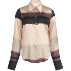 Anura Shirt - Black - Nanushka Tops found on MODAPINS from lyst.com for USD $129.00