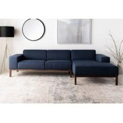 Safavieh Couture Dove Mid-Century Sectional Sofa - 109.45