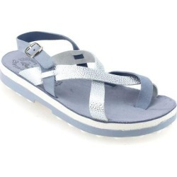 Fay Slingback Sandal - Blue - FANTASY SANDALS Flats found on MODAPINS from lyst.com for USD $70.00