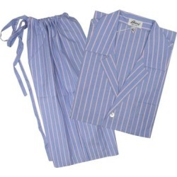Brioni Mens Blue Pink Striped Shorts Pajamas (XL), Men's(Cotton) found on MODAPINS from Overstock for USD $249.00