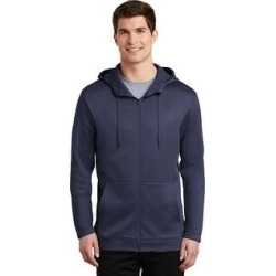 Nike Therma-Fit Full Zip Fleece Hoodie (Navy - S), Men's, Blue found on Bargain Bro from Overstock for USD $61.93
