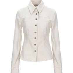 Denim Shirt - Natural - Nanushka Tops found on MODAPINS from lyst.com for USD $264.00