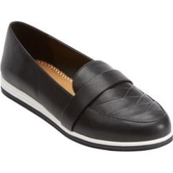 Women's The Aspen Flat by Comfortview in Black (Size 10 M) found on Bargain Bro Philippines from Woman Within for $55.99