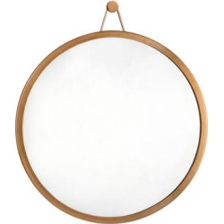 Rowan Brass Mirror - TOV Furniture TOV-C18120 found on Bargain Bro Philippines from totally furniture for $129.00