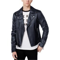 Wht Space Mens Casual Motorcycle Jacket found on MODAPINS from Overstock for USD $161.16