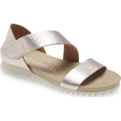 Pedro García Jedda Strappy Wedge Sandal - Natural - Pedro Garcia Flats found on MODAPINS from lyst.com for USD $495.00