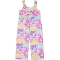 Juicy Couture Girls' Jumpsuits ASSORTED - Pink & Yellow Tie-Dye Bow Sleeveless Jumpsuit - Toddler & Girls found on MODAPINS from zulily.com for USD $13.99