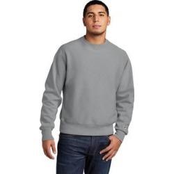 Champion Men's Reverse Weave Fleece Crewneck Sweatshirt (L - Concrete) found on Bargain Bro Philippines from Overstock for $52.49