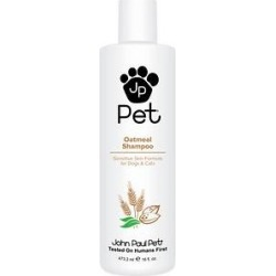 John Paul Pet Sensitive Skin Formula Oatmeal Dog & Cat Shampoo, 16-oz bottle found on Bargain Bro India from Chewy.com for $7.89