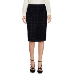 Knee Length Skirt - Black - Moschino Skirts found on Bargain Bro Philippines from lyst.com for $107.00