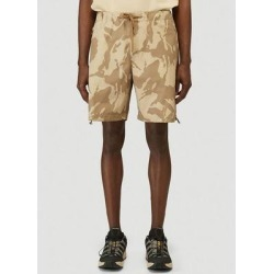 Camouflage Print Bermuda Shorts - Natural - Moncler Shorts found on Bargain Bro from lyst.com for USD $344.28