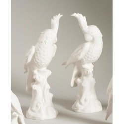 Chelsea House LG PARROTS-WHITE-PR Figurine - 380766 found on Bargain Bro Philippines from Capitol Lighting for $273.70