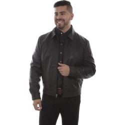Scully Western Jacket Mens Leather Zip Lined Black Lamb (XXL), Men's found on Bargain Bro India from Overstock for $219.95