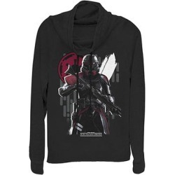 Fifth Sun Women's Sweatshirts and Hoodies BLACK - Star Wars: Jedi Fallen Order Black Jedi Hunter Cowl Neck Sweater - Women & Plus found on Bargain Bro from zulily.com for USD $5.32