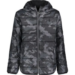 Boys 8-20 Under Armour Reversible Puffer Jacket, Boy's, Size: Medium, Black found on Bargain Bro from Kohl's for USD $25.08