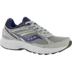 Saucony Cohesion 14 - Womens 6.5 Grey Running Medium found on Bargain Bro from ShoeMall.com for USD $49.36
