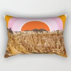 Rectangular Pillow | Alentejo Rainbow by Grace - Small (17