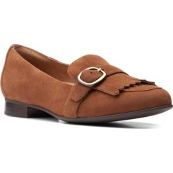 Clarks Un Blush Fame Flat - Brown - Clarks Flats found on Bargain Bro from lyst.com for USD $54.72